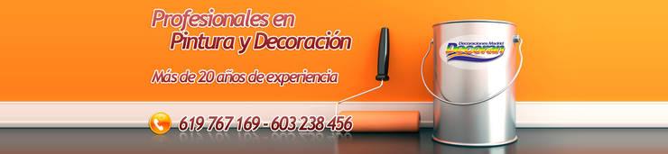 Decoraciones Madrid: Oficinas y tiendas de estilo  de Decorán - Decoraciones Madrid