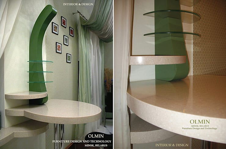 ПоТолковая квартира: Кухня в . Автор – ИП OLMIN - Архитектурная студия Олега Минакова