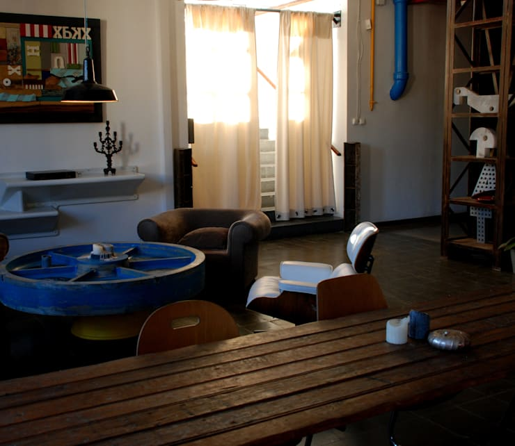 ESTAR36: Salones de eventos de estilo  de Doble36