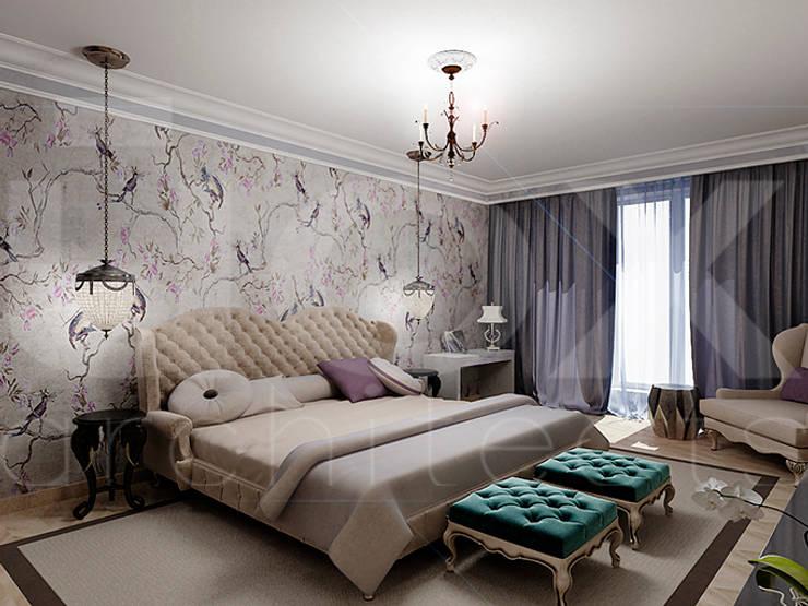 Квартира <q>Райские птицы</q>: Спальни в . Автор – ЙОХ architects