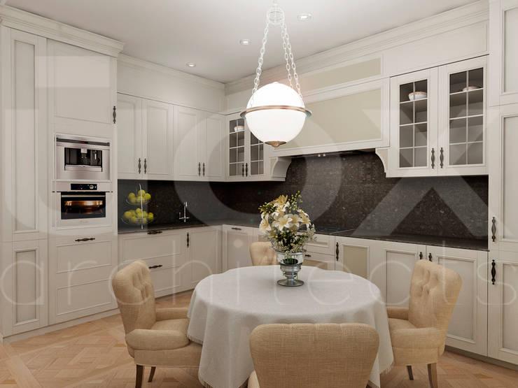 Квартира <q>Райские птицы</q>: Кухни в . Автор – ЙОХ architects