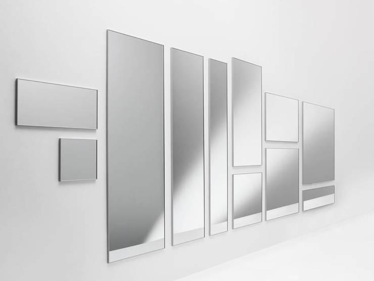 UTE MINIMAL & MILLERIGHE Spiegel:  Badezimmer von HORM.IT