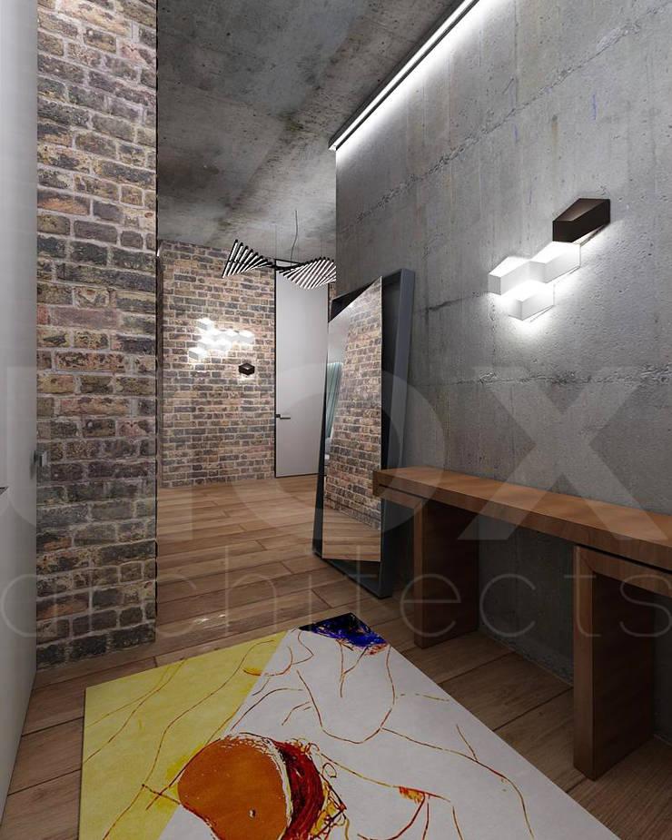 Квартира «Стихия бетона» : Коридор и прихожая в . Автор – ЙОХ architects