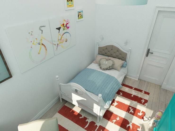 коттежд: Детские комнаты в . Автор – The Аrt of interior from Olga Kalinina