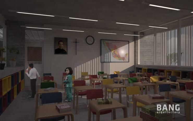 Vista del maestro en el salón:  de estilo  por BANG arquitectura