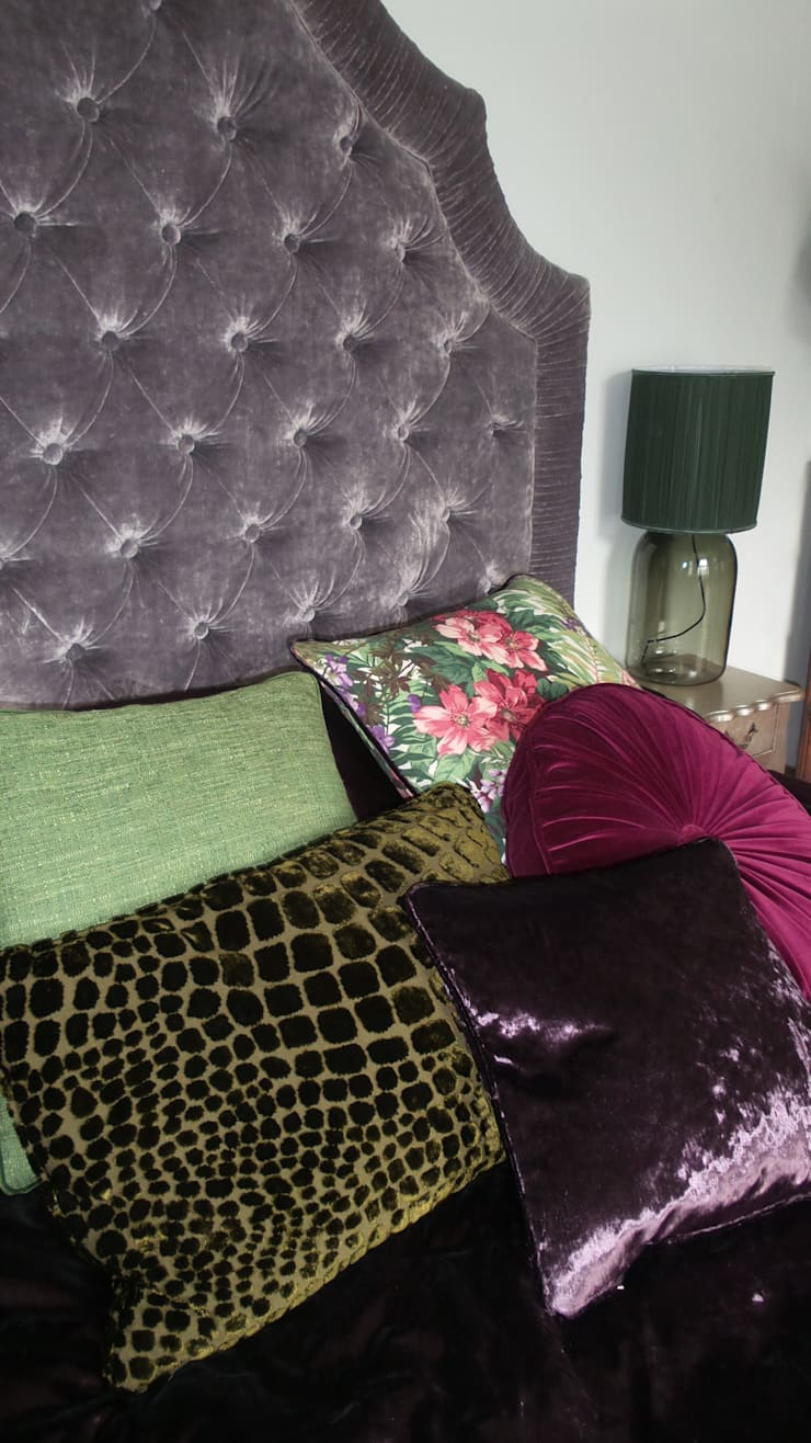 master bedroom:  Bedroom by velvet eccentric interiors
