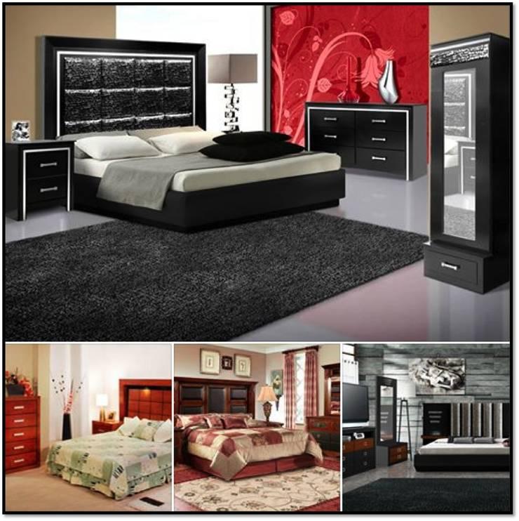 Recámaras completas (5 Piezas): Recámaras de estilo  por momento actual muebles
