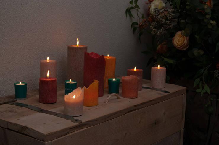 Diverse kleuren en maten:  Woonkamer door My Flame Lifestyle