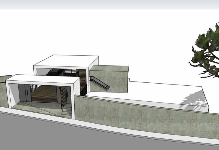casa en El Atabal: Casas de estilo  de Alejandro Ramos Alvelo / arquitecto