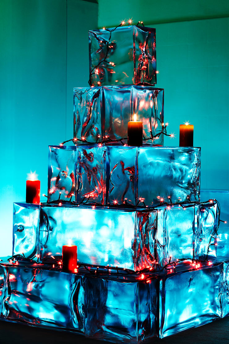 """""""Christmas tree""""  office building decoration:  Office spaces & stores  by LK Trading ltd/ Icefery"""
