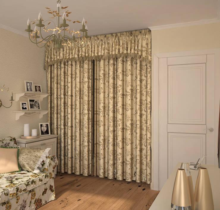 Спальня в стиле Французский прованс: Спальни в . Автор – Универсальная история