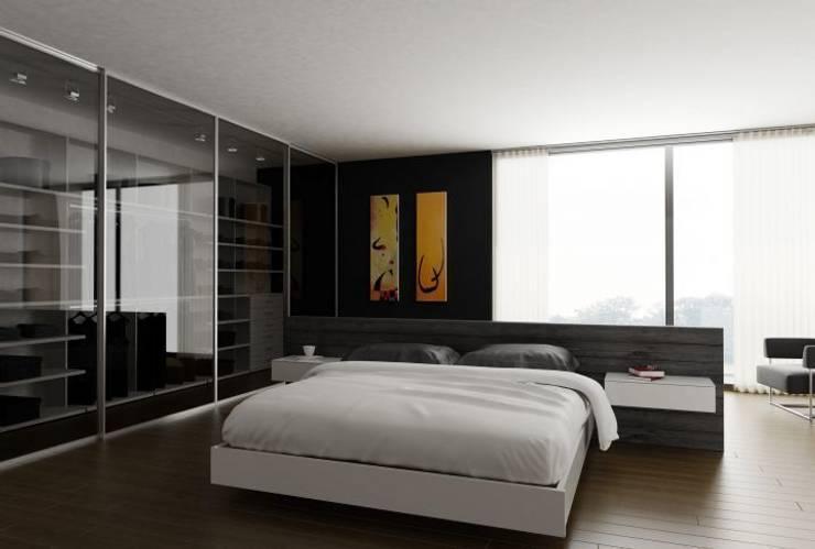Dormitorio: Dormitorios de estilo minimalista de Logos Kallmar