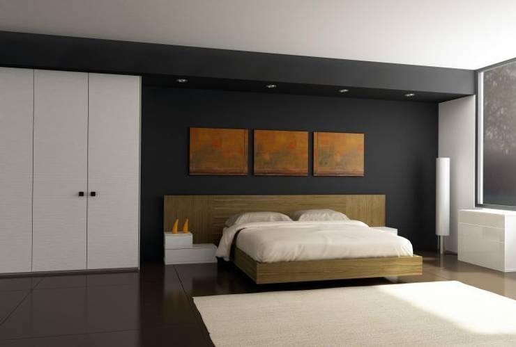 Dormitorio: Dormitorios de estilo  de Logos Kallmar