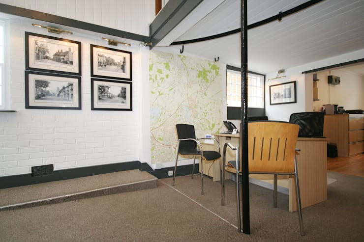 Bespoke Local Map Wallpaper :  Offices & stores by Wallpapered