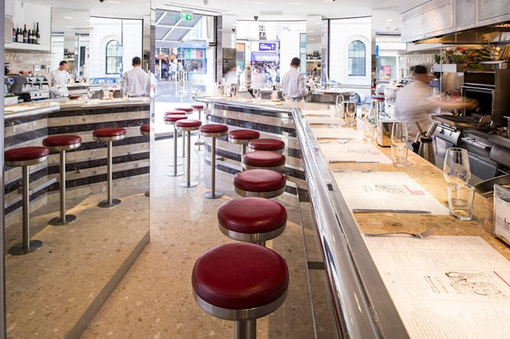 Barrafina:  Bars & clubs by Superfutures