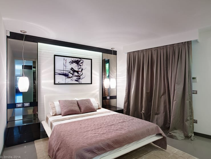 Villa Alexandra, CANNES :  Bedroom by SoFarSoNear