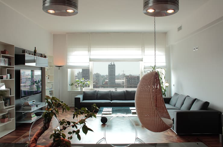 Salas de estar modernas por Gaia Brunello | Photo&HomeStaging