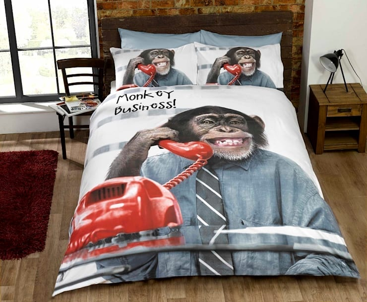 This Design Will Make You Smile????:  Bedroom by Century Mills