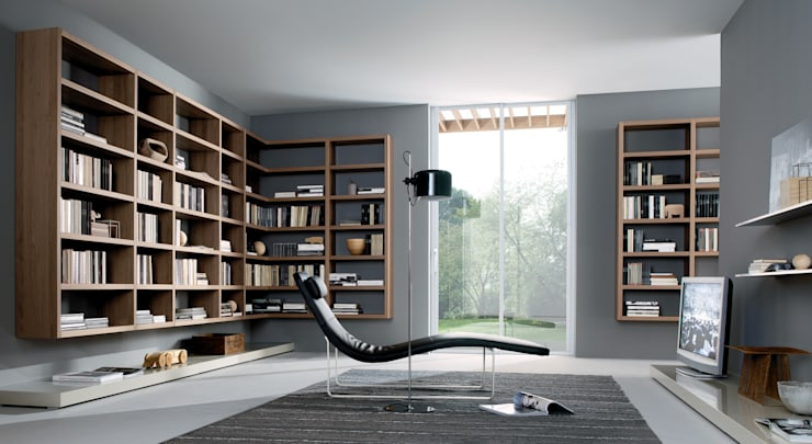 minimalistic Study/office by Lamco Design LTD