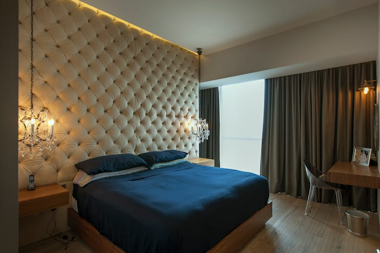 Bedroom by kababie arquitectos