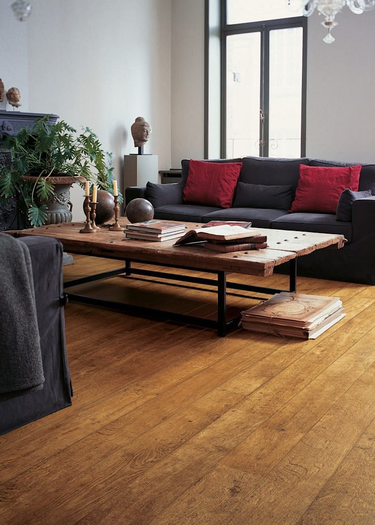 Harvest Oak:  Walls & flooring by Quick-Step