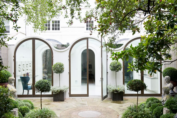 Mews 04:  Conservatory by Andy Martin Architecture