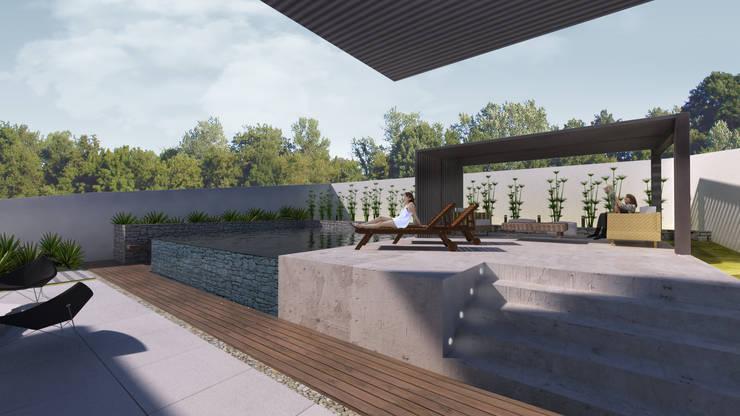 Pool by K+S arquitetos associados, Modern