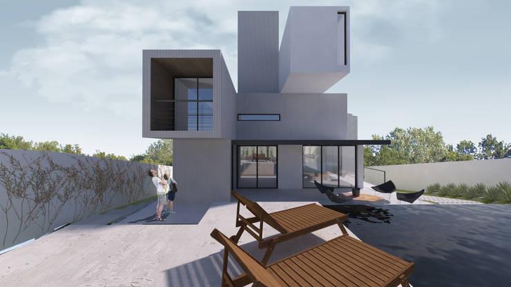 Houses by K+S arquitetos associados, Modern