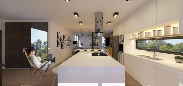 Cuisine de style  par K+S arquitetos associados, Moderne