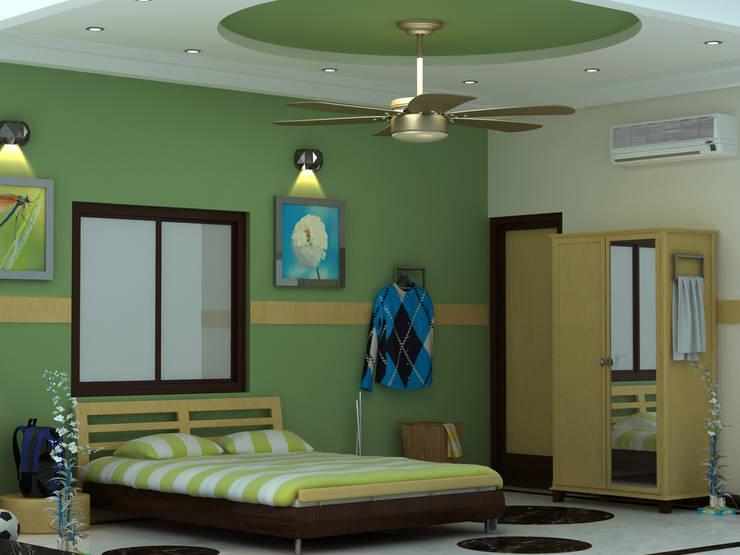 kids room:  Nursery/kid's room by 3F Architects