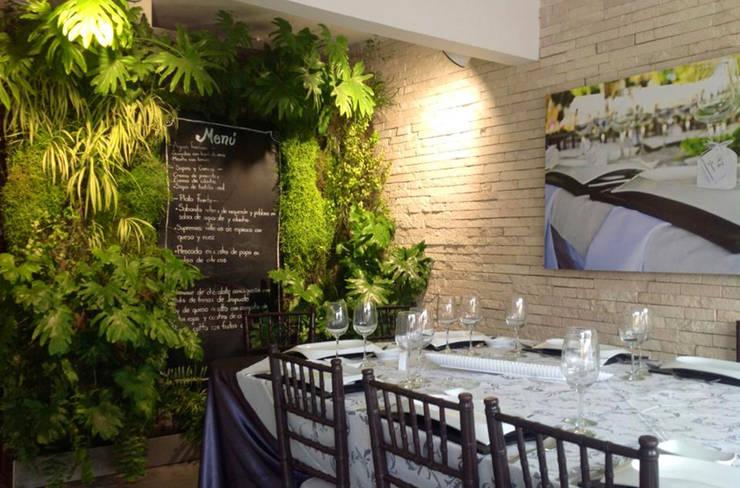 Jardín Vertical : Paisajismo de interiores de estilo  por ENVERDE