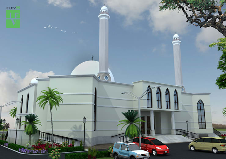 mosque:   by 3F Architects