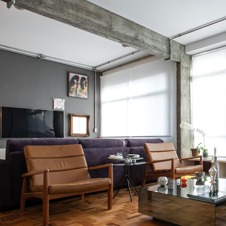 Manoel Guedes: Salas multimídia  por PM Arquitetura