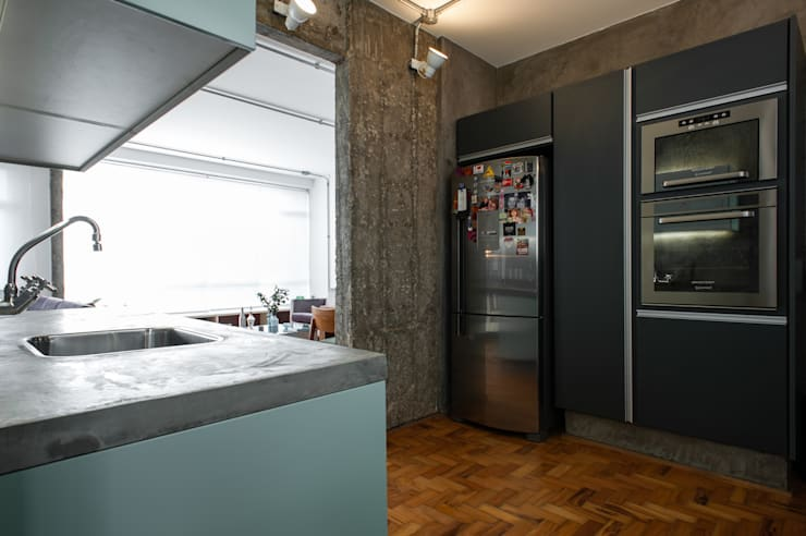 Cocinas de estilo  por PM Arquitetura