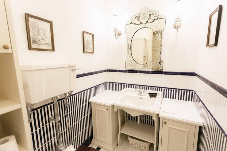 Объект №3: Ванные комнаты в . Автор – KM Studio