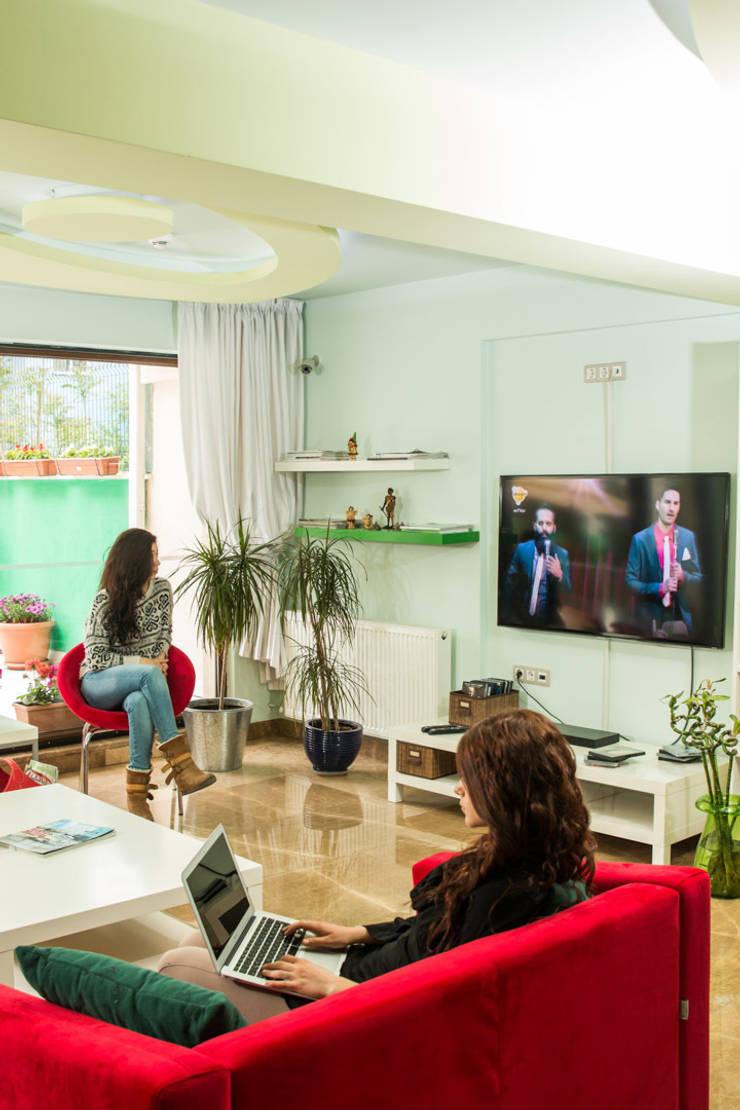 NK Fotoğraf ve Video Prodüksiyon – İç Mekan Mimari Fotoğraf Çekimleri: modern tarz Oturma Odası