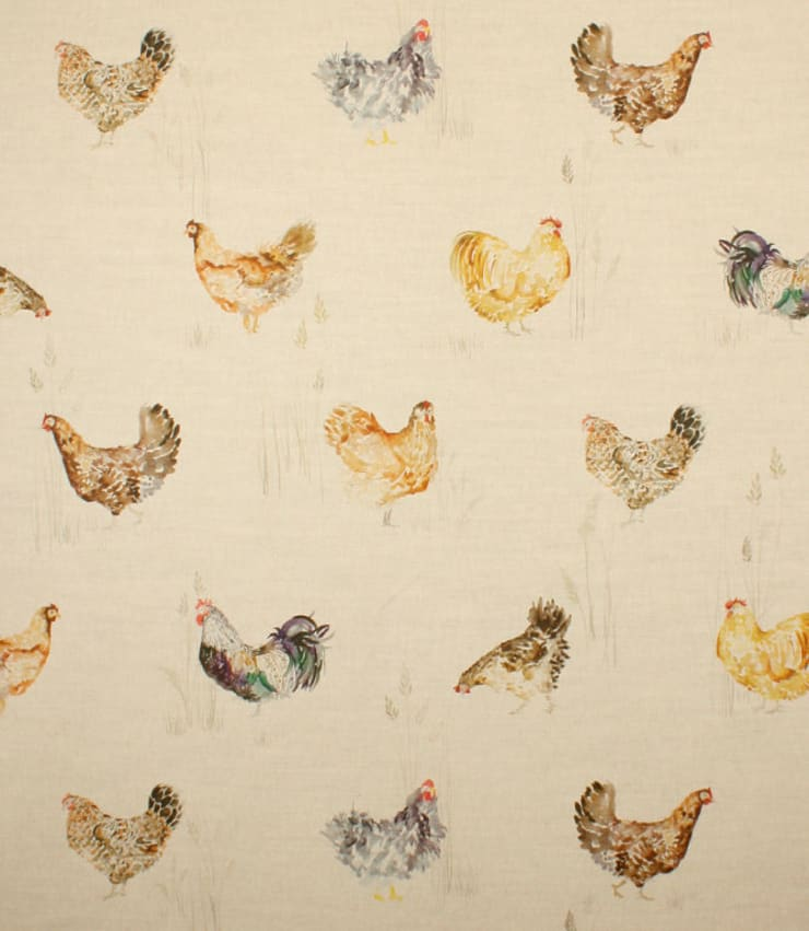 Chook chook:  Living room by Herts Upholstery