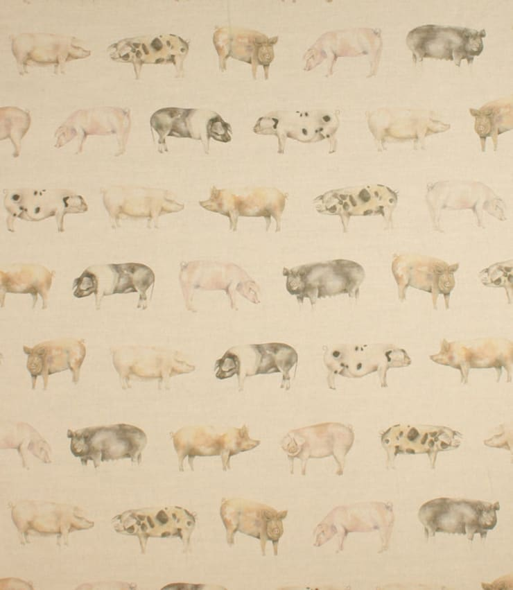 Oink:  Living room by Herts Upholstery