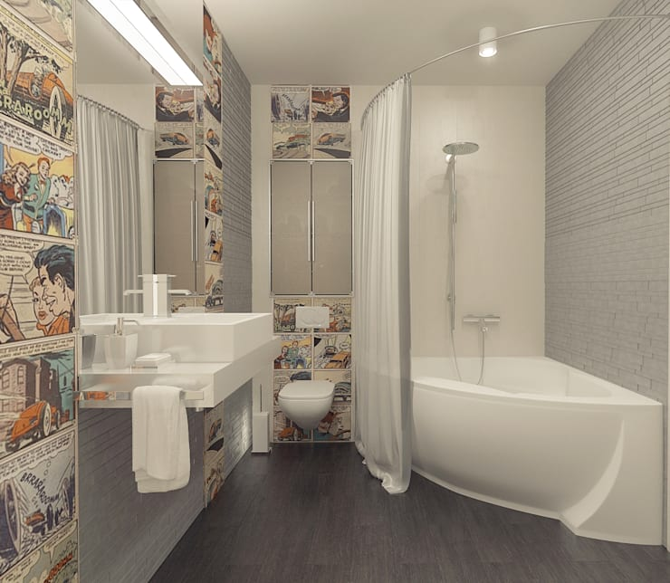 Bathroom by Tutto design