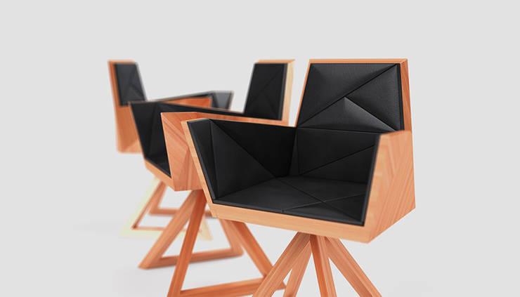 Fotel SIT: styl , w kategorii Domowe biuro i gabinet zaprojektowany przez Delicious Concept