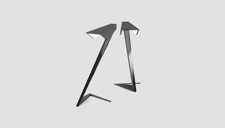 Lampa SNAKE: styl , w kategorii Salon zaprojektowany przez Delicious Concept