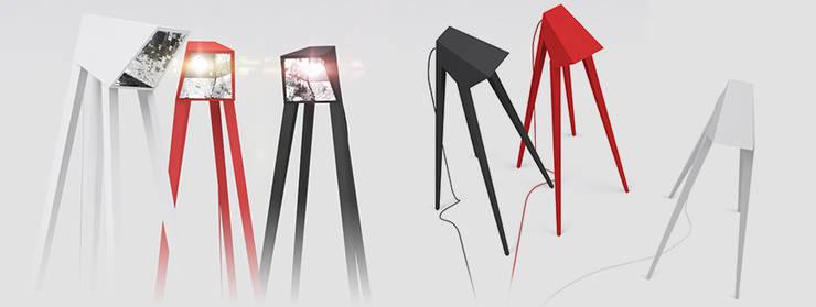 Lampa ELEFHANT: styl , w kategorii Salon zaprojektowany przez Delicious Concept