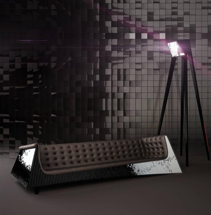 Lampa ELEPHANT: styl , w kategorii Salon zaprojektowany przez Delicious Concept