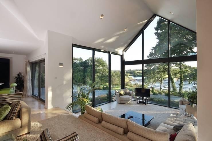 Hardwood Conservatory:  Conservatory by Hampton Windows
