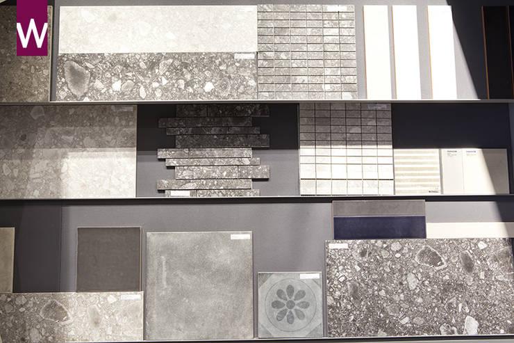 vtwonen tegels voor de rustieke badkamer:  Badkamer door Van Wanrooij keuken, badkamer & tegel warenhuys, Rustiek & Brocante
