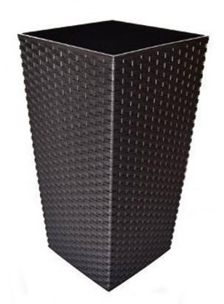 Donica ratta mokka: styl , w kategorii  zaprojektowany przez Ired-Garden,Minimalistyczny
