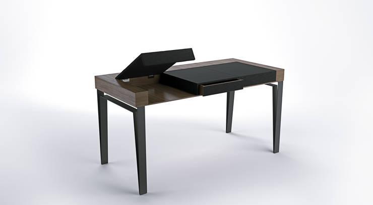 Biurko DESK 2: styl , w kategorii Domowe biuro i gabinet zaprojektowany przez Delicious Concept,
