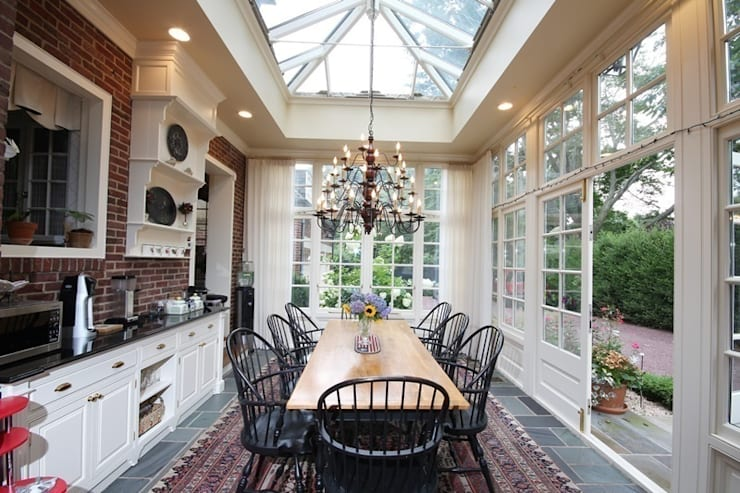 Hardwood Orangery:  Conservatory by Hampton Windows