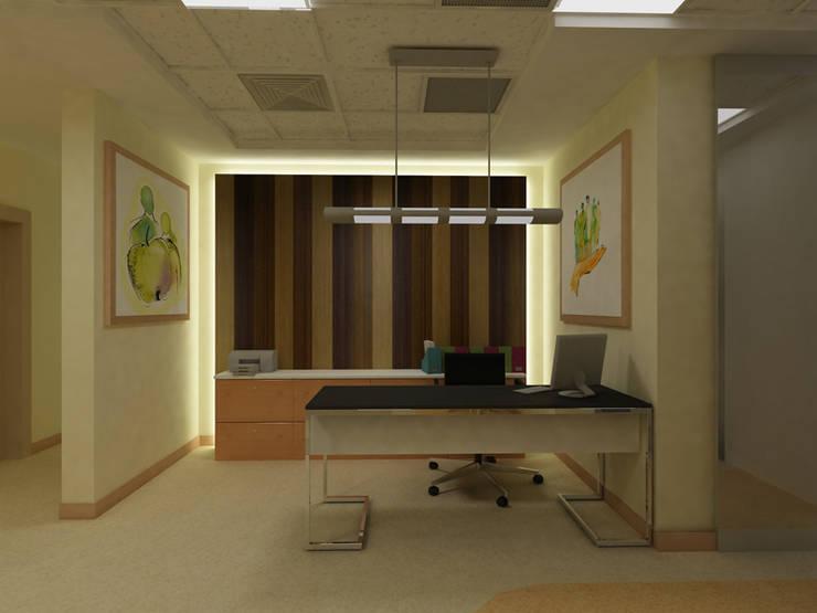ARCHES DESIGN – KAZAKİSTAN DİYALİZ MERKEZİPROJE ÇALIŞMASI:  tarz Hastaneler