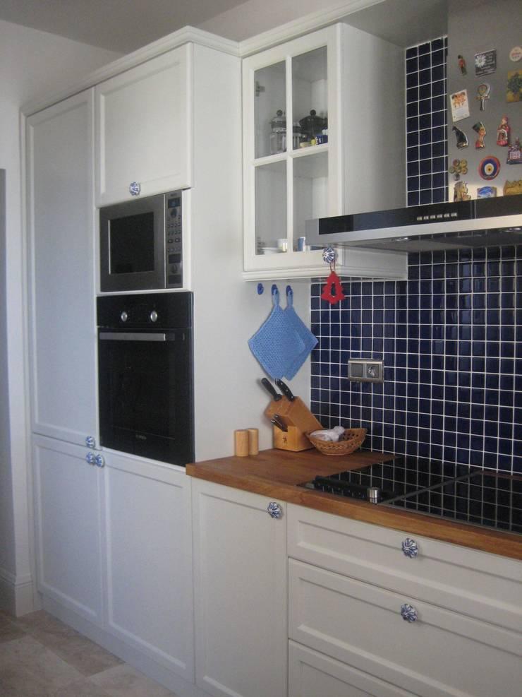 İdea Mimarlık – Mutfak :  tarz Yatak Odası